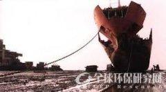 威立雅环保拆船项目奠基