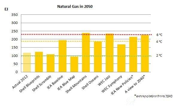 2050年全球天然气市场展望报告