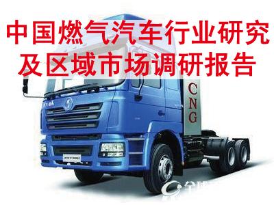 中国燃气汽车行业研究及区域市场调研报告