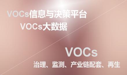 VOCs信息与决策平台(VOCs行业&对标大数据)