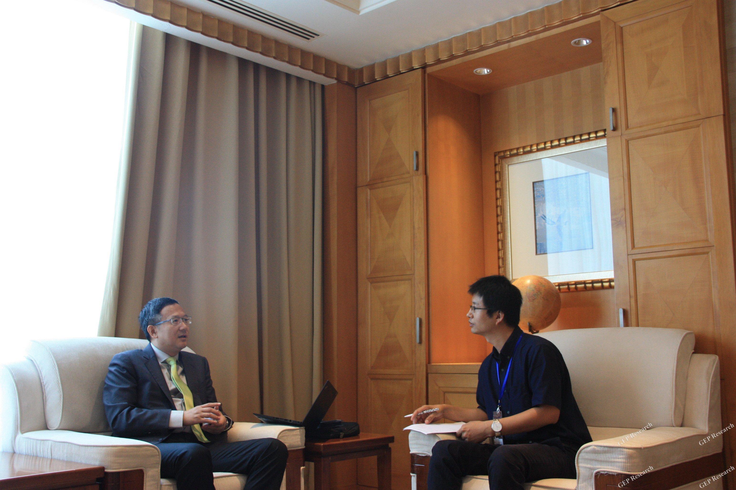 专访维美德(中国)有限公司中国区总裁朱向东先生